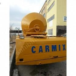 satılık 3.5 m3 carmix mobil beton santralı