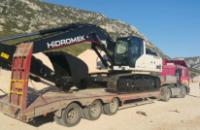30 tonluk kırıcılı 2017 model paletlı ekskvaator